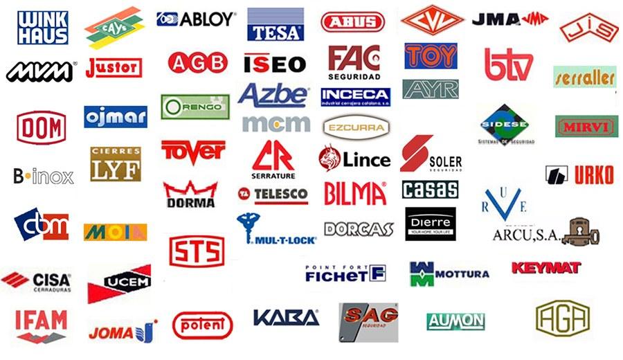 logos cerraduras - Cambiar Cerradura y Aperturas Puerta en la Barceloneta