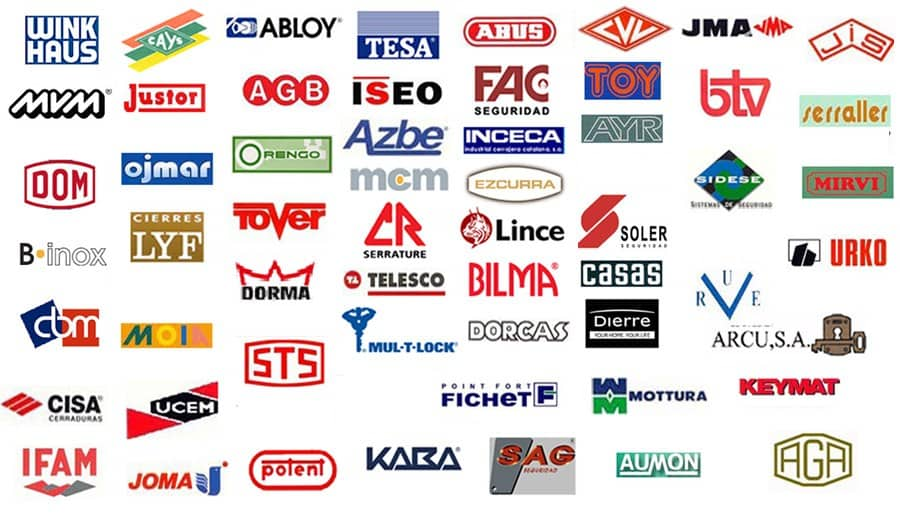 logos cerraduras min - Cerrajeros barcelona   640 011 187   cerrajerias barcelona 24h